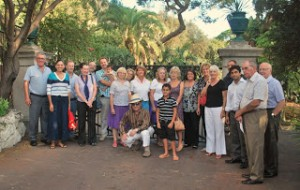 Rotary Club - Alameida Gardens group photo gates