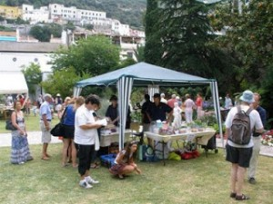 Rotary Club Book and Cake Stall