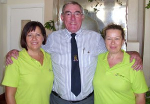 Rotary President with MV activity co-ordinators