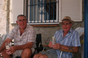 Summer BBQ 2011 Tony and Roger