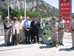 Unveiling of Rotary Wheel June 2002